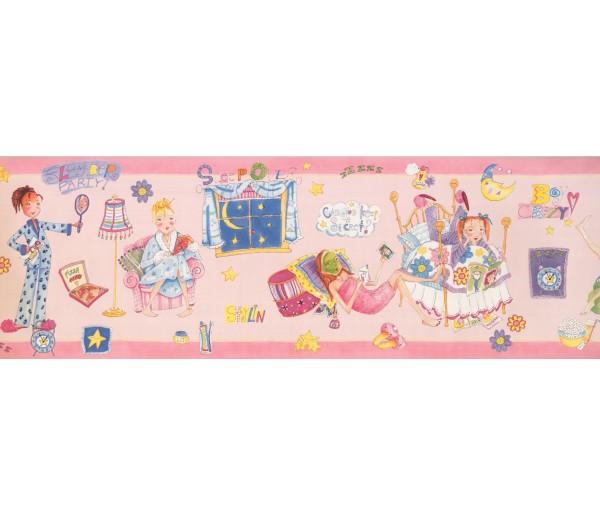 Kids Borders Girls Wallpaper Border 9138 WK York Wallcoverings