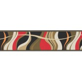 Contemporary Wall Borders: Contemporary Wallpaper Border 9357 WK