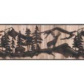 Jungle Animals Wallpaper Border 5534 WL York Wallcoverings