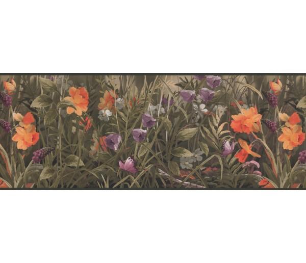 Garden Wallpaper Borders: Garden Wallpaper Border 5614 WL