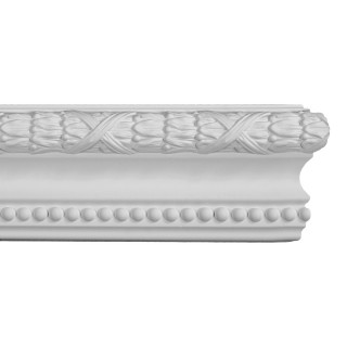 Ceiling and Wall Relief 4 inch WR-9009 Flat Molding