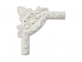Ceiling and Wall Relief - WR-9028A Flat Molding Corner