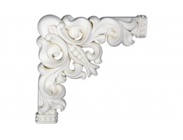 Ceiling and Wall Relief - WR-9048A Flat Molding Corner