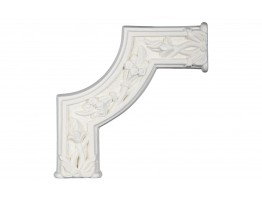 Ceiling and Wall Relief - WR-9048B Flat Molding Corner