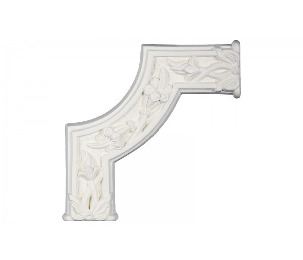 Ceiling and Wall Relief WR-9048B Flat Molding Corner