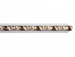 Ceiling and Wall Relief 1 1/2 inch Flat Molding WR 9061 WG
