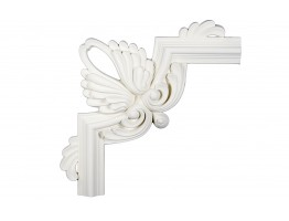 Ceiling and Wall Relief - WR-9080A Flat Molding Corner