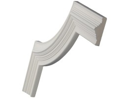 Ceiling and Wall Relief - WR-9093B Molding Corner