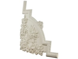 Ceiling and Wall Relief - WR-9113A Flat Molding Corner
