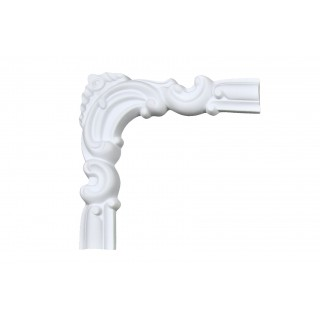Ceiling and Wall Relief - WR-9139A Flat Molding Corner