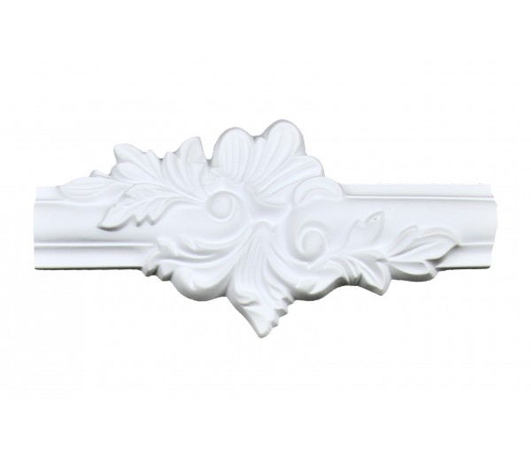 Ceiling and Wall Relief: WR-9139B Flat Molding Corner