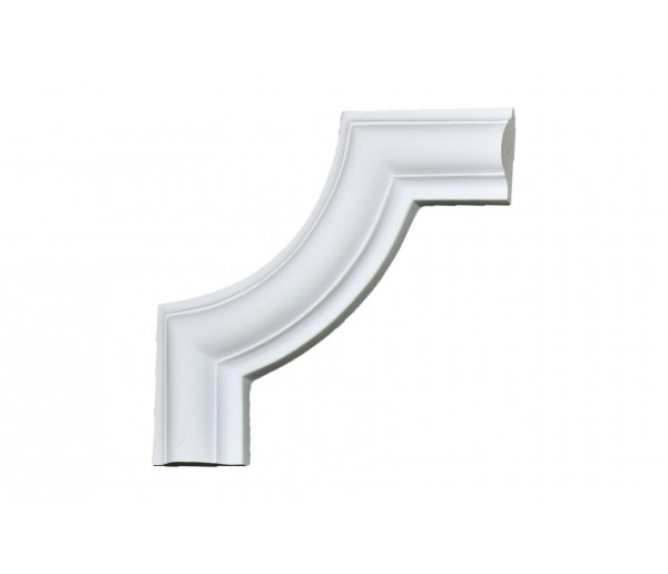 Ceiling and Wall Relief: WR-9139C Flat Molding Corner