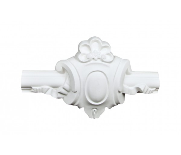 Ceiling and Wall Relief: WR-9139H Flat Molding Corner