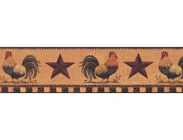 Roosters Wallpaper Border 3402 YC