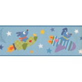 Nursery Wallpaper Borders: Kids Wallpaper Border 9108 YS