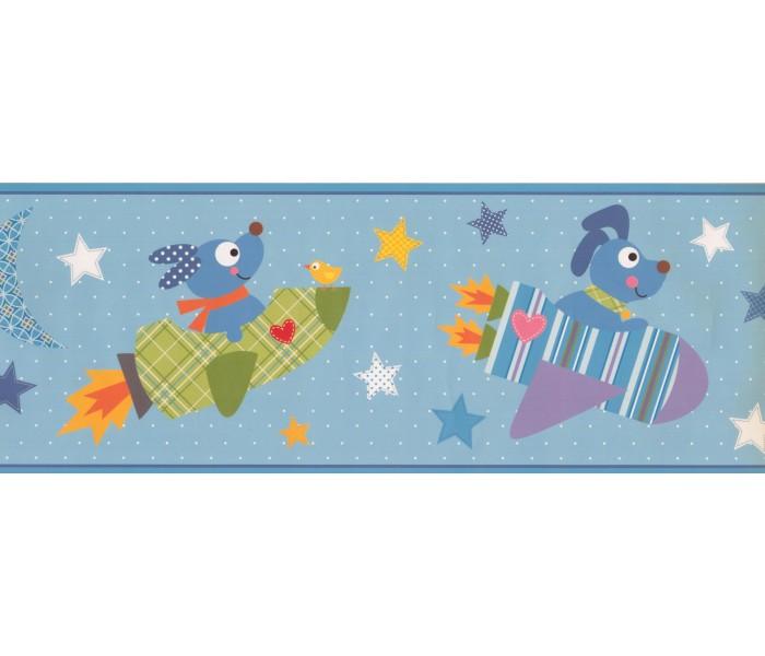 Nursery Wallpaper Borders: Kids Wallpaper Border 9108 YS