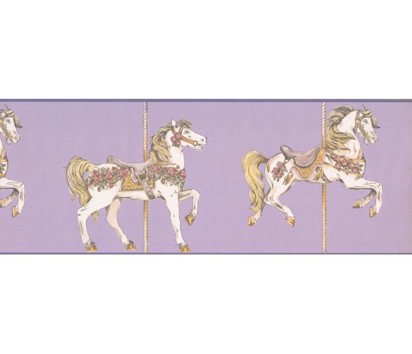 Horses Wallpaper Borders: Horses Wallpaper Border 9137 YS