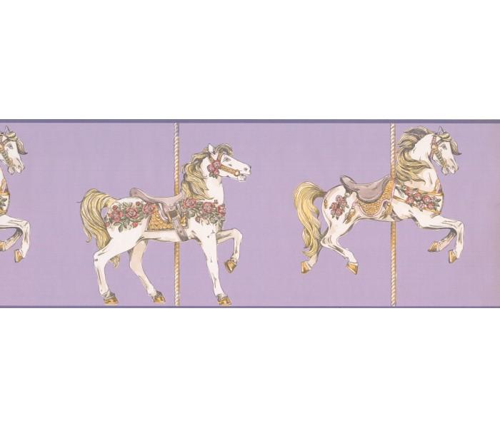 Horses Wallpaper Borders: Horses Wallpaper Border 9137 YS