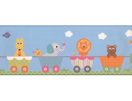 9 in x 15 ft Prepasted Wallpaper Borders - Kids Wall Paper Border 9146 YS