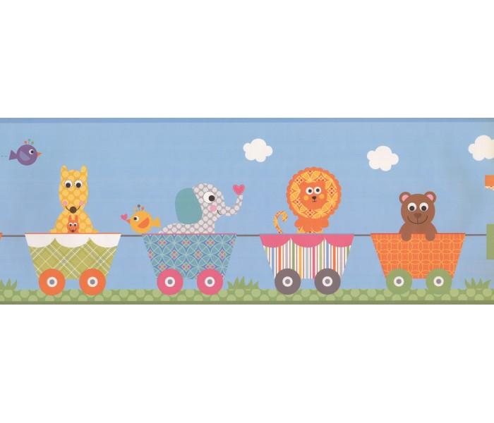 Nursery Wallpaper Borders: Kids Wallpaper Border 9146 YS