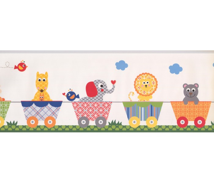 Nursery Wallpaper Borders: Kids Wallpaper Border 9147 YS