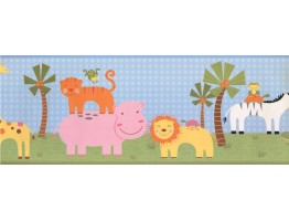 Prepasted Wallpaper Borders - Kids Wall Paper Border 9169 YS