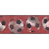 Sports Wallpaper Borders: Sports Ball Wallpaper Border 3172 ZB