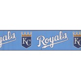 Baseball Royals Wallpaper Border 3364 ZB York Wallcoverings