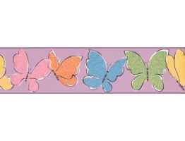 Butterfly Wallpaper Border 3425 ZB