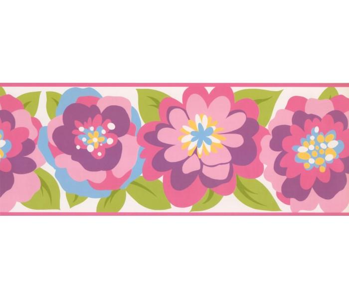 Floral Wallpaper Borders: Floral Wallpaper Border 3439 ZB