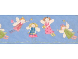 9 in x 15 ft Prepasted Wallpaper Borders - Fairies Wall Paper Border 3443 ZB