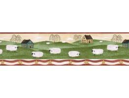 Animals Wallpaper Border HIC0038
