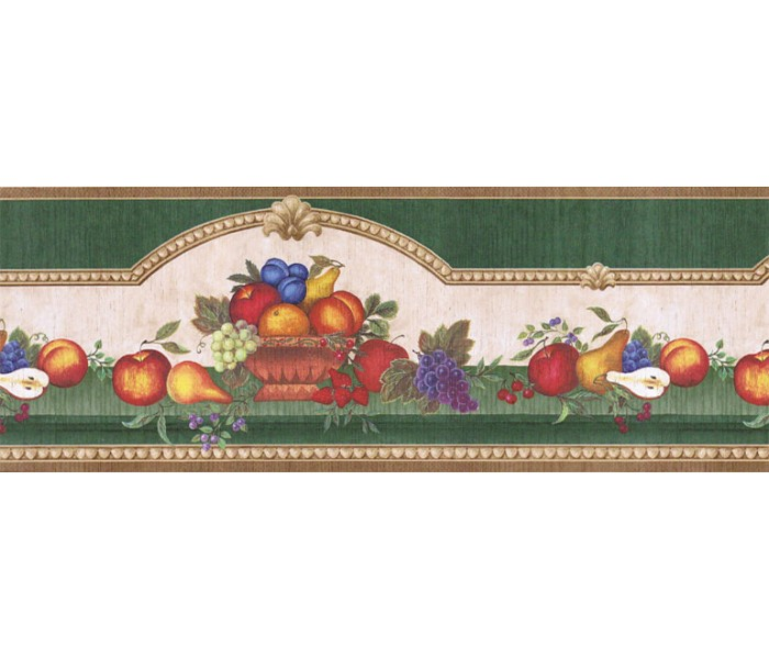 Garden Wallpaper Borders: Fruits Wallpaper Border FAB02061