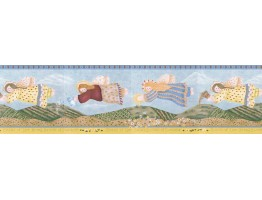 Angels Wallpaper Border LBO212B