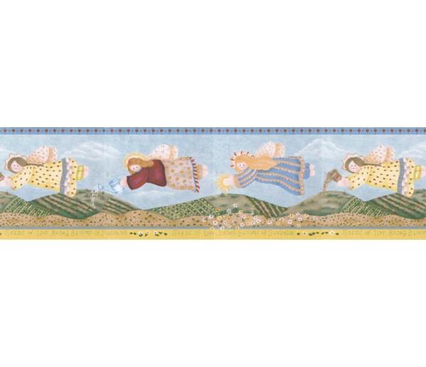 Clearance Angels Wallpaper Border LBO212B Crewcut Desighns