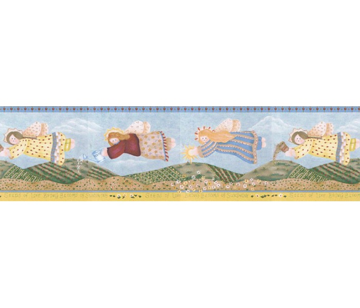 Clearance: Angels Wallpaper Border LBO212B