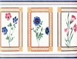 Floral Wallpaper Border VS3242B