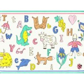 Nursery Wallpaper Borders: Animals Wallpaper Border BCB333