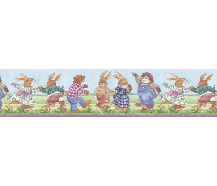 Clearance: Kids Wallpaper Border B05702