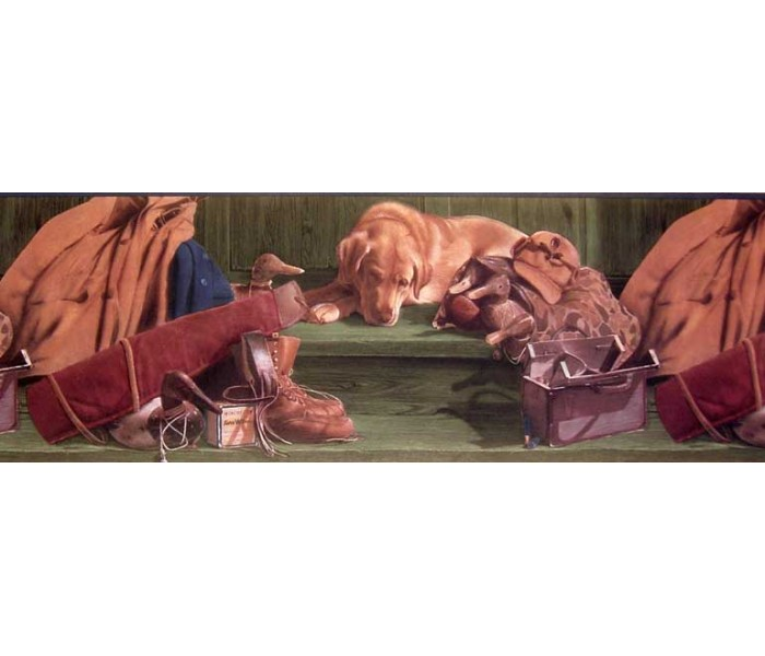 Clearance: Animals Wallpaper Border B10030303