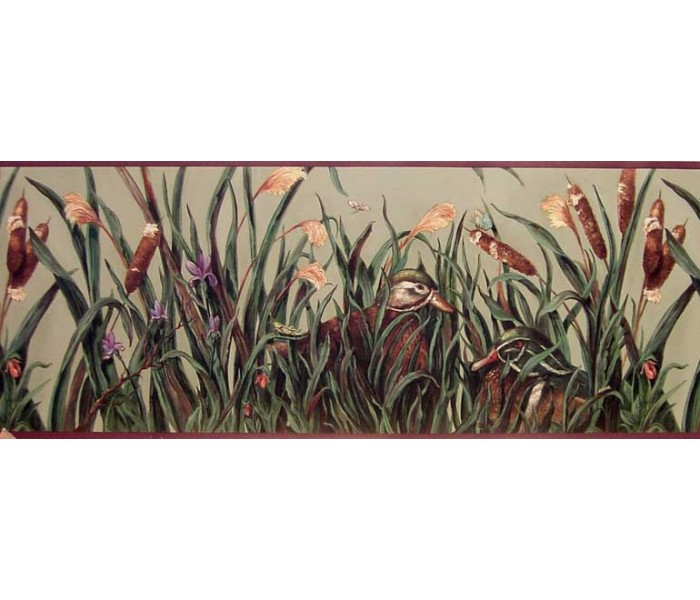 Hunting Wallpaper Borders: Birds Wallpaper Border B10030801