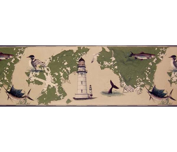 Clearance: Contemporary Wallpaper Border B10031004