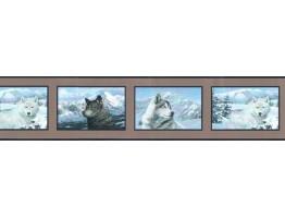 Prepasted Wallpaper Borders - Animals Wall Paper Border SB10069B