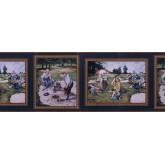 Golf Wallpaper Borders: Golf wallpaper Border NT101423