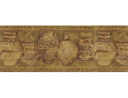 Prepasted Wallpaper Borders - Kitchen Wall Paper Border MV1023B