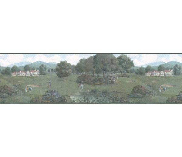 Golf Wallpaper Borders: Golf wallpaper Border b102602