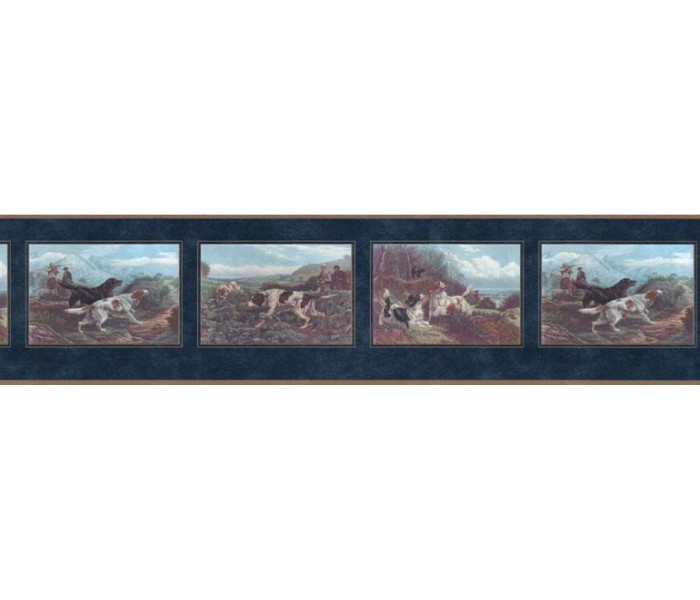 Clearance: Dogs Wallpaper Border b102634