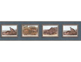 Prepasted Wallpaper Borders - Animals Wall Paper Border b102651