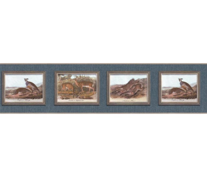Clearance: Animals Wallpaper Border b102651