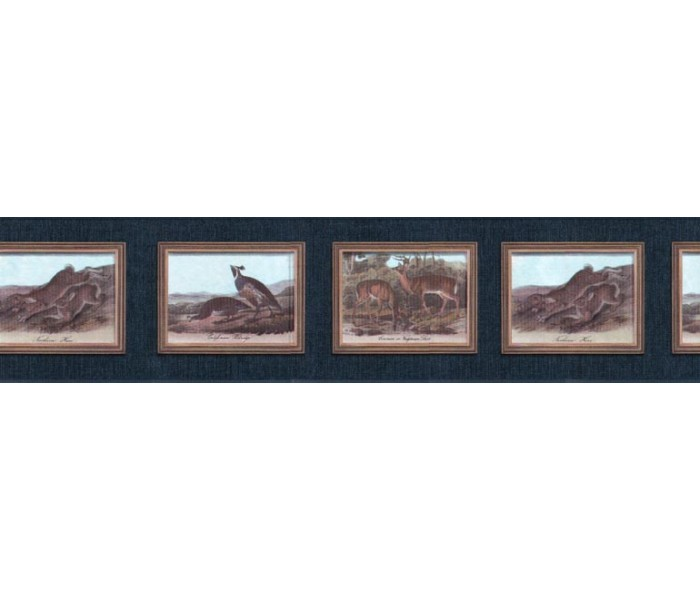 Clearance: Animals Wallpaper Border b102653